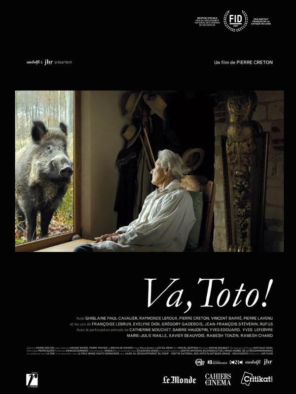 Va, Toto !, Affiche